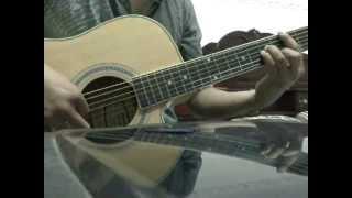 Bước chân lẻ loi - solo guitar