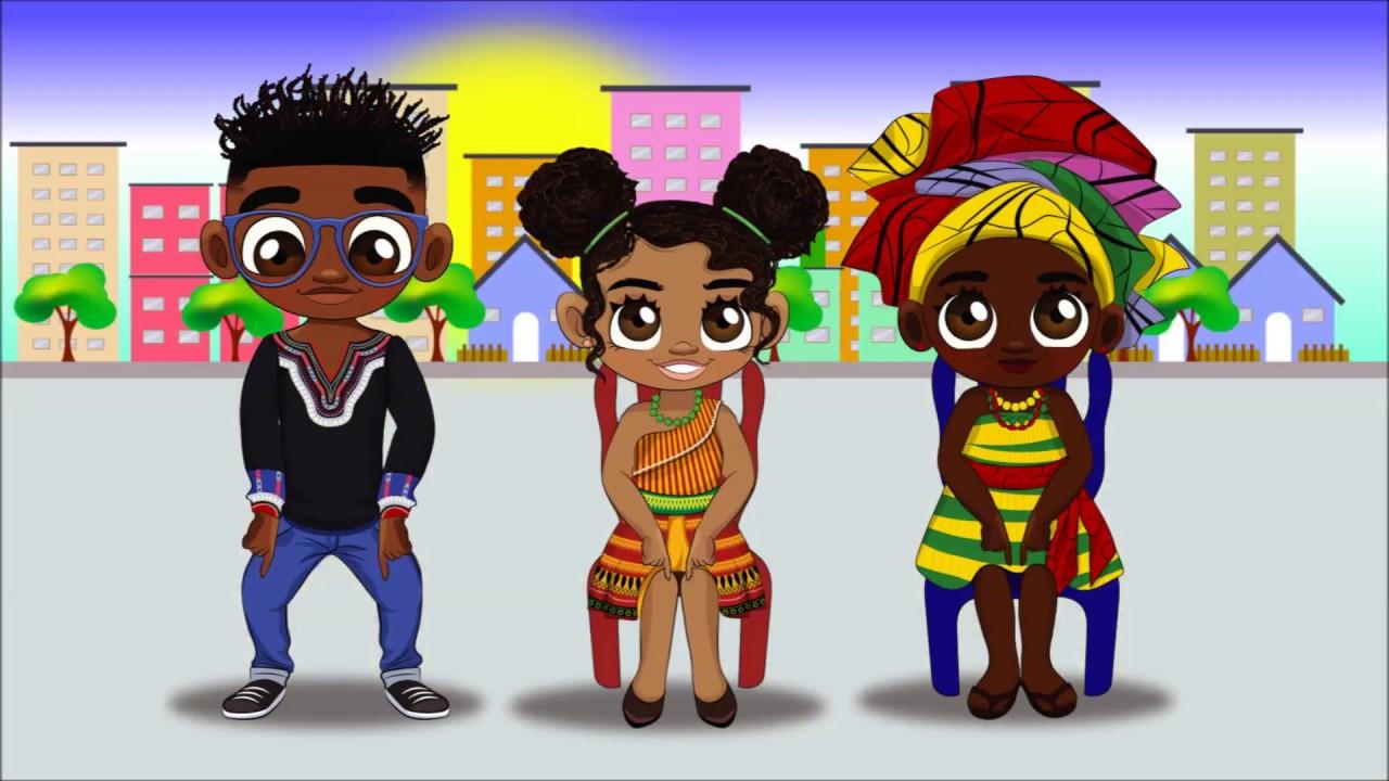 Download Twi for Kids: Twi Nursery Rhyme - Me Ti M'Abati (Head Shoulders Knees & Toes)