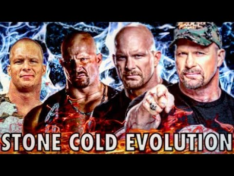 "THE EVOLUTION OF ""STONE COLD"" STEVE AUSTIN TO 1996-2020"