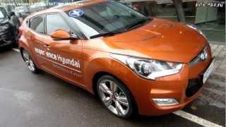 Hyundai Veloster Тест драйв. Anton Avtoman. смотреть