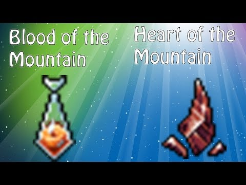 Blood of the Mountain y Heart o the Mountain | Tibia