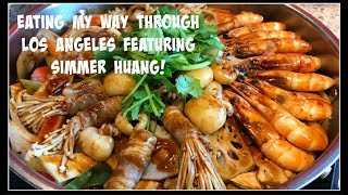 Eating my way through LA ft. SIMMER HUANG! | House of X Tia