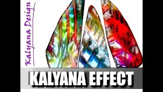 "065 - ""Kalyana effect"" - 3D mica shift ripple blade effect -..."