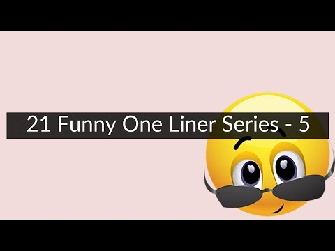 funny one liners dating bios
