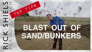 BLAST OUT OF BUNKERS / SAND TRAPS