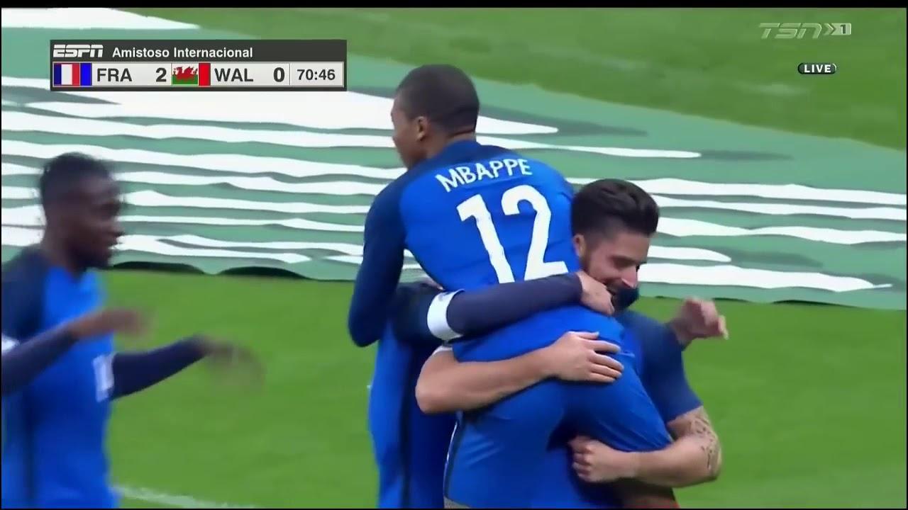 Download France vs Wales 2-0 ● Goals & Highlights  ● 10-11-2017 - FRIENDLY