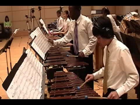 The Percussion Scholarship Group performing excerpts from Prokofiev's music. Arrangement by Cliff Colnot.