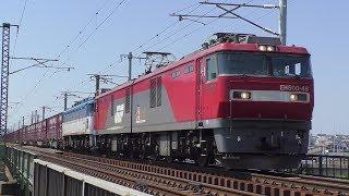 【JR貨物】1074レ EH500-48+EF81-503(無動力.)