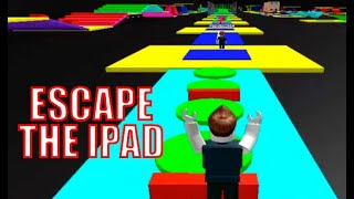 GAMES FOR CHILDREN, ROBLOX PLAYING ESCAPE THE IPAD, ADVENTURES, FUN, GAMES, BLIPPI