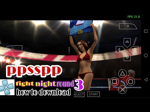 Fight Night Round 3 In Ppsspp How To Download For Android 150 MB