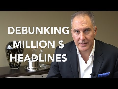 Debunking Million Dollar Lawsuits - Teggart Injury Law