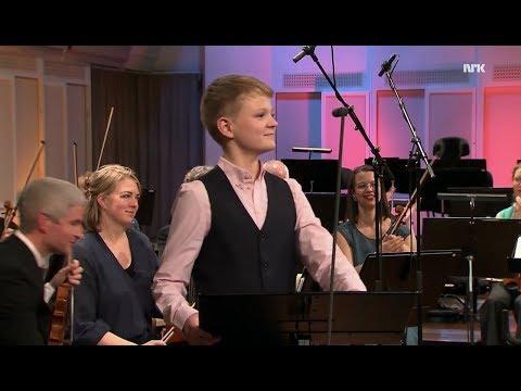 Let the bright Seraphim | Aksel Rykkvin (13y boy soprano) | Mark Bennett | KORK