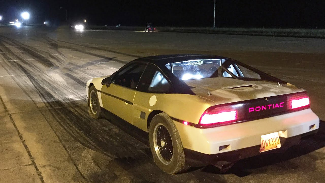 Pontiac Fiero Turbo V8 Lsx Swapped Youtube Drivetrain