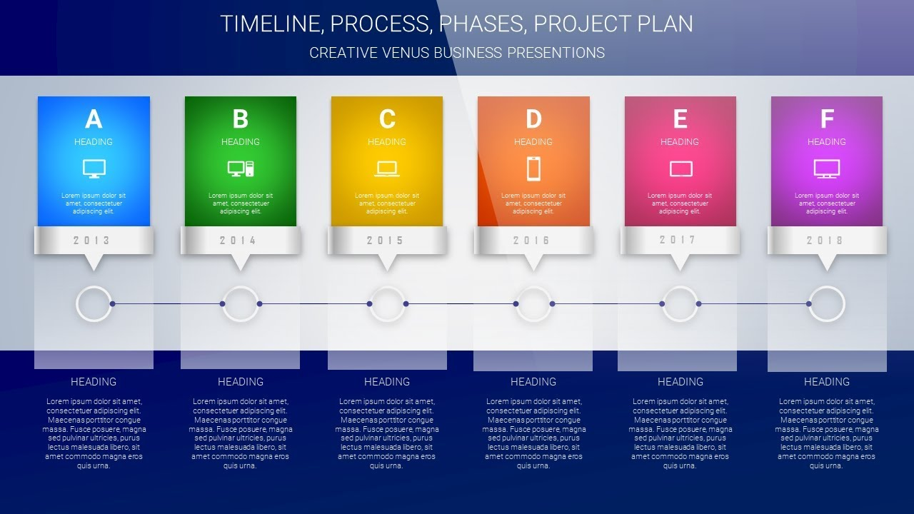 design timeline project plan yearly plan steps process