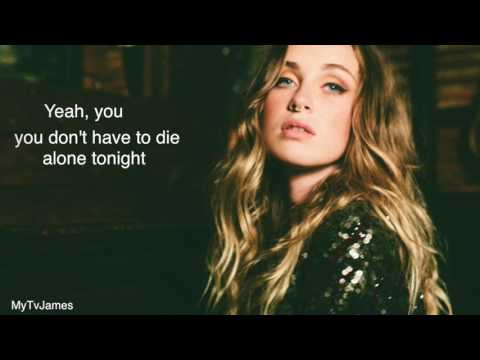 Zella Day - Sacrifice lyric video (Pitch shifted version)