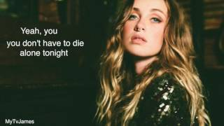 Zella Day - Sacrifice lyric video Pitch shifted version