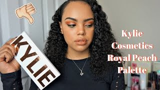 Kylie Cosmetics Royal Peach Palette Review & Tutorial + Boyfriend Smell Test