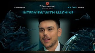 Interview with Machine, The International 7 (Ru Subs)