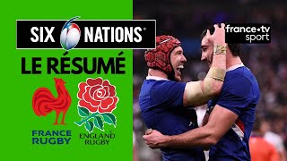 6 Nations 2020 : La France remporte le Crunch face à l'Angleterre - Résumé Complet