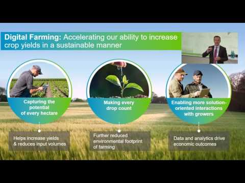 Future of Farming Dialog 2016: Liam Condon on Digital Farming