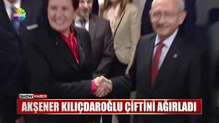 Akşener Kılıçdaroğlu çiftini ağırladı