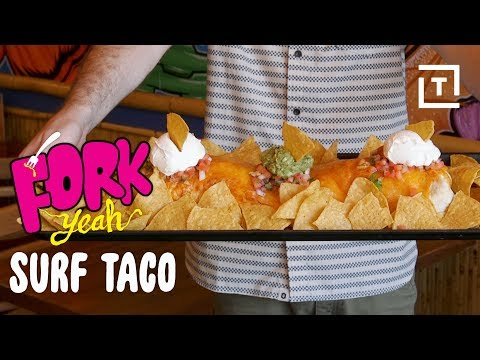The Challenge of Eating a 4-Pound Burrito || Fork Yeah