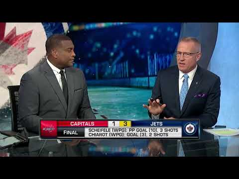 NHL Tonight:  Winnipeg Jets:  Discussing the Jets` 3-1 victory against the Capitals  Nov 14,  2018