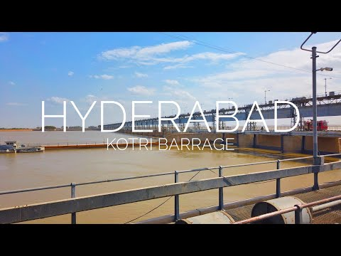 HYDERABAD City Street View - Kotri Barrage - Expedition Pakistan