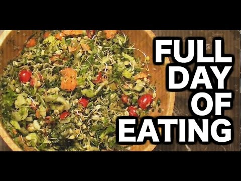 What I eat in a day Raw Vegan Athlete | Full day of eating for healthy lifestyle and weight loss