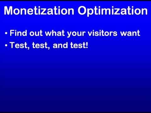 SEO Education 101 Monetization Optimization