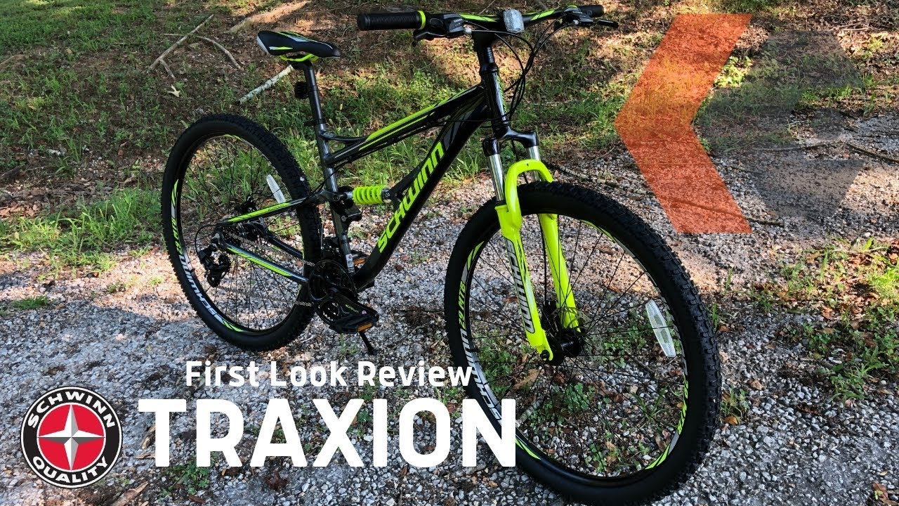 876073878b7 Schwinn Traxion Full Suspension MTB   First Look KevCentral review ...
