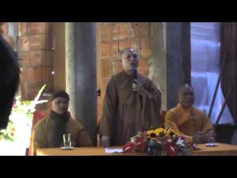 Lễ cất nóc chùa Nhân Hòa Warszawa BaLan - Phần II
