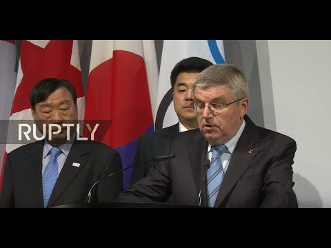 LIVE: IOC announces decision on DPRK participation in 2018 Winter Olympics