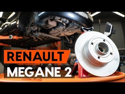 Как заменить задний тормозной диск в сборе с подшипником RENAULT MEGANE 2 (LM) [ВИДЕОУРОК AUTODOC]