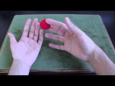 Magic Trick - Vanishing Sponge Ball Tutorial
