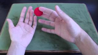 Magic Trick - Vanishing Sponge Ball Tutorial