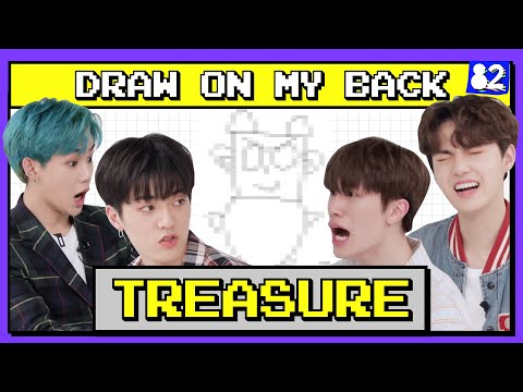 (CC) YG Super Rookies TREASURE's Drawing Contest I COPY&PASTE : DRAW