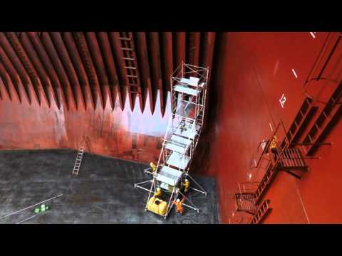Cargo hold cleaning