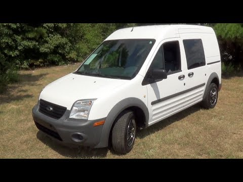 2011 Ford Transit Connect Startup Interior Exterior Tour And Test