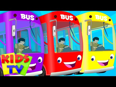 English wheels on the bus  kids playlist  kids tv ba songs  the wheels on the bus