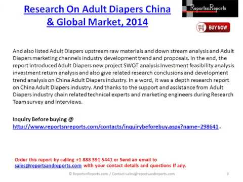 Adult industry market report