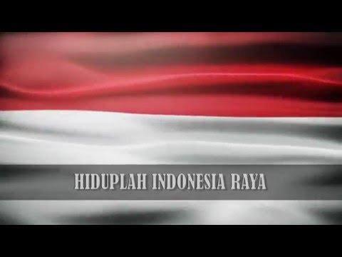 """Lagu Kebangsaan """"Indonesia Raya"""" Instrumental HD (+ Lirik)"""