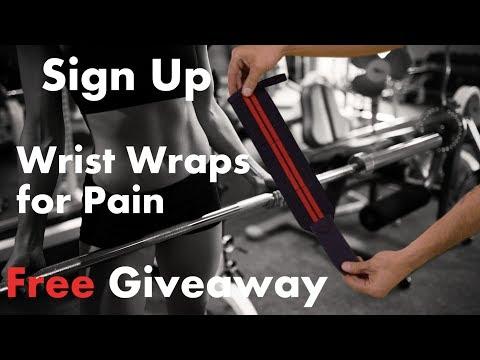 Wrist wraps for pain Giveaway! WinWristWraps.info