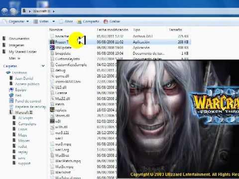 Descargar Warcraft 3 + Frozen Throne& DotA gratis (1 link)(en ingles :/)