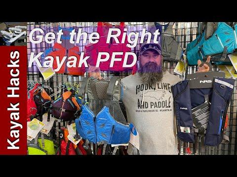 Kayak PFD Sizing for Kayak Fishing PFD or Recreational PFD (Part 1)