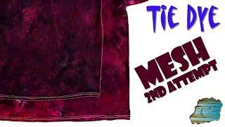 Tie Dye: Experimental Mesh  [Powder Dye]