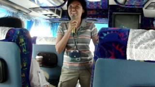 По дороге в Бангкок ,тайская девушка-гид жжот ...