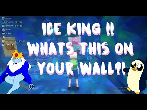 ICE KING!! WHATS ALL THIS ON YOUR WALL?! (Adventure time episode 3)