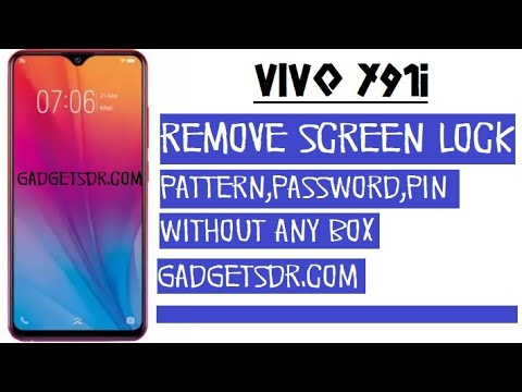 VIVO Y91i Remove Screen Lock (Password, Pin, Pattern) Lock easily by  Gadgets Doctor