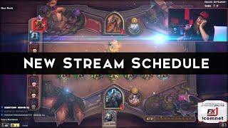 Announcement! New Stream Schedule